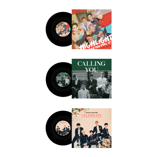 ALBUM COASTER SET